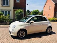 Fiat 500 1.2 Lounge Panoramic roof. Bought from main Fiat dealer
