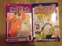 Ouran high school host club and seven deadly sins volume 1