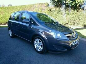 2013 VAUXHALL ZAFIRA EXCLUSIV CDTI *FINANCE THIS CAR FROM £36 PER WEEK*51000 MILES.MINT CONDITION...
