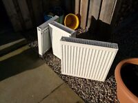 3 radiators used, for sale