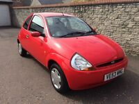 BEAUTIFUL 2003/53 FORD KA 1.3 STYLE, ONLY 51000 MILES, SERVICE HISTORY, NEW MOT