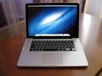 "i7 Quad Core Apple MacBook Pro 15"" 2.2Ghz 8GB RAM 2TB HD Adobe CC Logic Pro X Cubase Reason Sibelius"