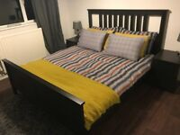 Ikea King Size Bed and Mattress - available together or separately - BARGAIN