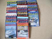 Old Motor Boat Monthly Magazines