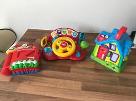 Leap frog and Vtech toys