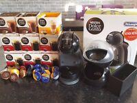 De'Longhi Mini Me (Piano Black) Dolce Gusto Automatic coffee machine with pod holder and bin