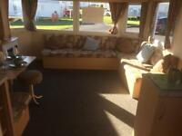 8 berth caravan in crimdon dene available for rent
