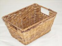 SMALL BASKETS - 4 Seagrass storage baskets natural colour as new, £10