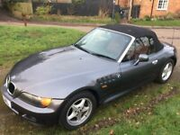BMW Z 3 2.0lt CONVERTIBLE A REAL CLASSIC ..84000 MILES..DRIVES EXCELLENT !