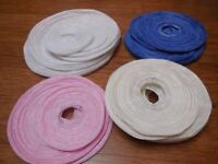 27 Paper lanterns: blue, white, pink, cream - perfect for weddings or parties!