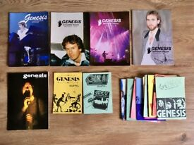 Genesis fan club magazines and memorabilia for sale - £50 ono
