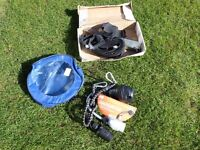 For Sale caravan conversion lead and awning tie down kit