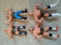 WCW figures vintage