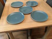 Poole Pottery Retro Dinner Plates