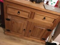 Oak cabinet great condition