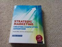 Strategic Marketing Creating Competitive Advantage book excellent condition