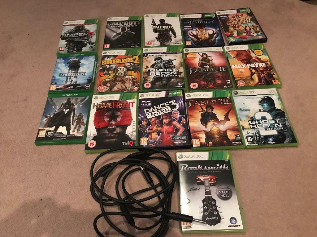 Free!! Bag of Xbox 1 and Xbox 360 games | in Peterborough