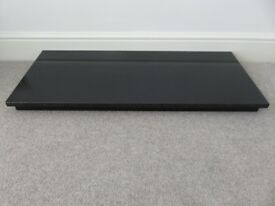 "Black Granite Hearth 36""; x 15""; for Gas / Elec Fireplace"