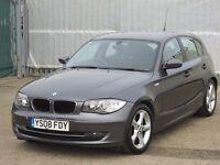 2008 (08 reg), BMW 1 Series 2.0 118d SE 5dr