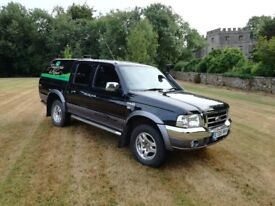 Ford Ranger Thunder, 12 months MOT, 198000 miles, grey leather, very nice overall condition