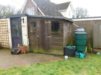 Lean-to Shed 7 X 9 ft (214 x 275 approx)