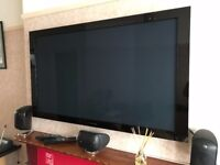 Pioneer Kuro KRP 500a, 50 inch Plasma Monitor with separate media box