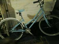 vintage ladies basket bike