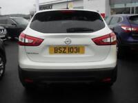 Nissan Qashqai ACENTA DIG-T SMART VISION (white) 2015-03-13
