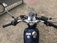 Yamaha SR 125 - great learners bike only 11000 miles
