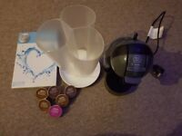Dolche Gusto Coffee Machine and POD Holder