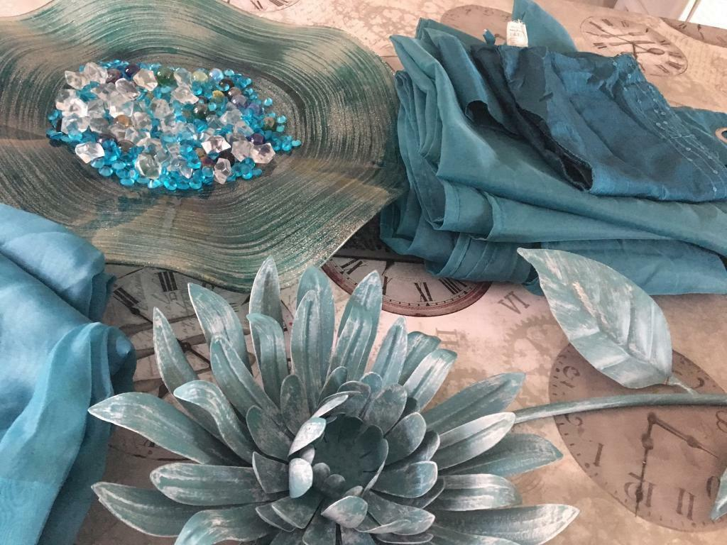 Teal accessories for sale