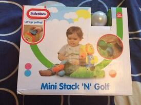 BRAND NEW Mini stack and golf