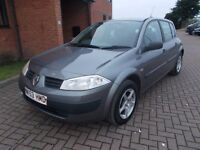 RENAULT MEGANE 1.4 DYNAMIQUE 5 DOOR (53) 1 OWNER, LOW MILES.