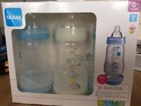 Brand new in box MAM bottles