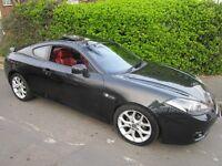 hyundai coupe s111. black, 2007, 2.0L AUTO. vgc .
