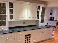 Solid wood kitchen in excellent condition