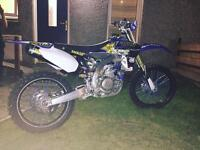 2010 Yamaha 450cc fuel injected.