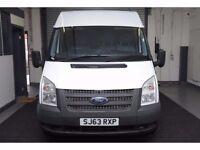 2013 (63) Ford Transit 2.2 TDCi 260 S Medium Roof Van 3dr (EU5, SWB) CLEAN - 6 MONTHS GOLD WARRANTY