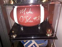 CFL Argos Football Michael O'Shea Signed - Add Custom Case $40