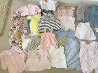 Baby girl clothing bundle 3-6 months