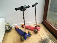 2 mini micro scooters £15 each or both for £20