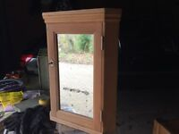 Bath room cabinet ideal for shabby chic painting pine wood