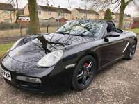 06 Reg Porsche Boxster 2.7 987 (TRIPLE BLACK) convertible eg mr2 saab mx5 audi golf z4 bmw 986 slk