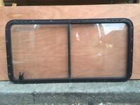 Caravan motorhome horsebox window