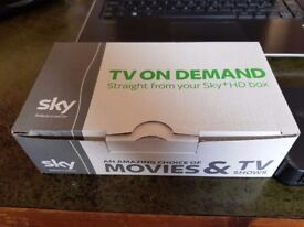 SKY WIRELESS WiFi CONNECTOR (SC201) TV ON DEMAND from your sky+HD box