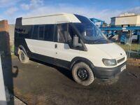 Ford, TRANSIT, Minibus, 2005, Manual, 2402 (cc)