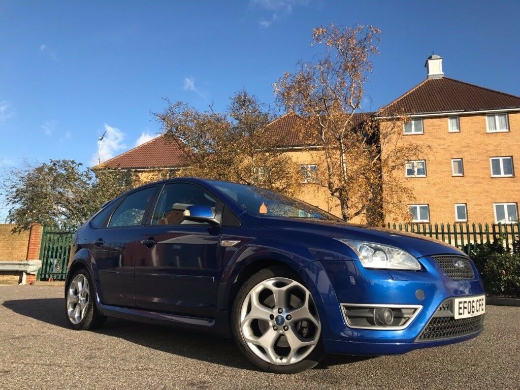 2006 FORD FOCUS ST ST-2 2.5 TURBO MANUAL MK2 225 BHP NOT ST3 ST