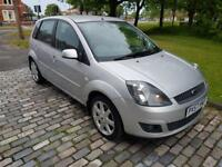 FORD FIESTA 1.4 TDCi Zetec Blue 5dr (silver) 2008
