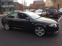 Audi A4 2 L diesel automatic MOT very low mileage only 73,000 on the clock