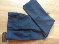 NEXT NAVY BLUE FORMAL BOYS TROUSERS ~ AGE 9 ~ SIGNATURE ~ NEVER WORN ~ BOYS CLOTHES ~ ONLY £1.50
